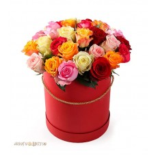 """Композиция в коробке """"25 роз"""""""
