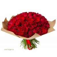 """Букет """"Из 101 красной розы"""""""