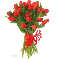 """Букет """"25 красных тюльпанов"""""""