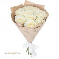 """Букет  """"Из белых роз"""""""