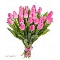 """Букет """"25 Розовых Тюльпанов"""""""