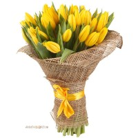 """Букет  """"51 Желтый тюльпан"""""""